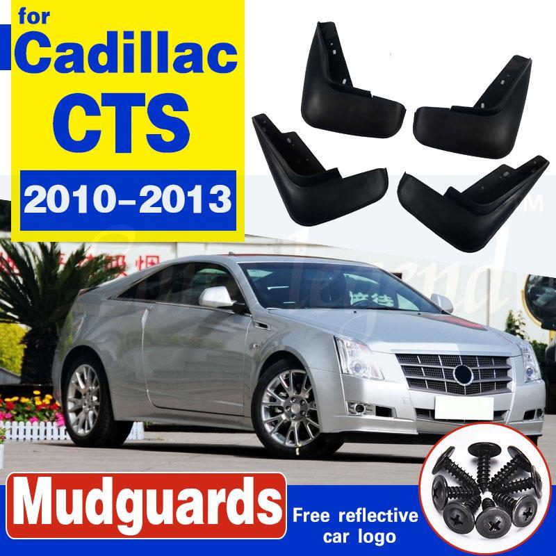 Für Cadillac CTS 2010 2011 2012 2013 Set Auto-Schmutzfänger Schmutzfänger Schmutzfänger Schmutzfänger Kotflügel Fender vorn hinten