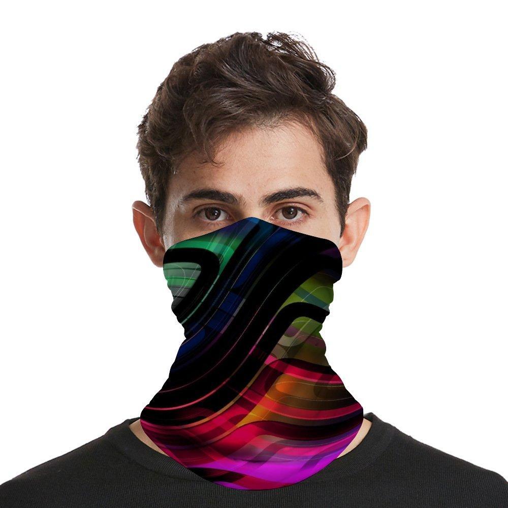 Sciarpa di copertura Maschera bandana senza giunte del fronte a SportOutdoor sciarpa magica Viso copertura di protezione UV dell'involucro della testa Balaclava per uomini e donne