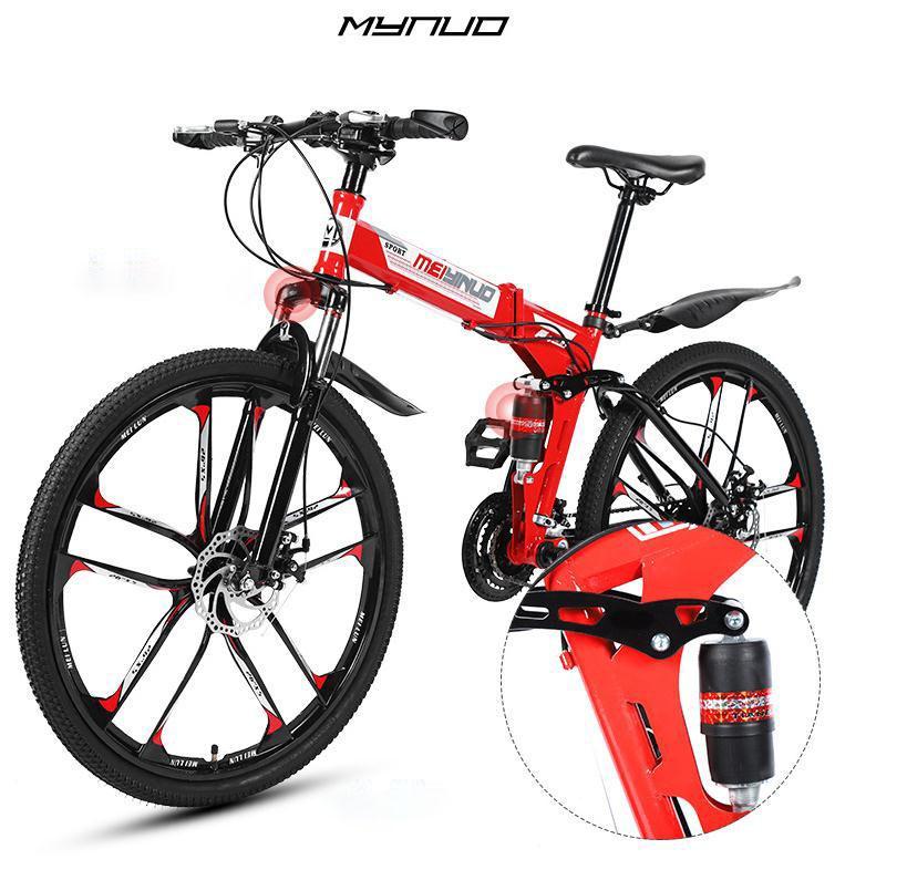 20ss direkt ab Werk Mountainbike Stoßdämpfung roten Fahrrad 26 Zoll mit variabler Geschwindigkeit Student Faltrad