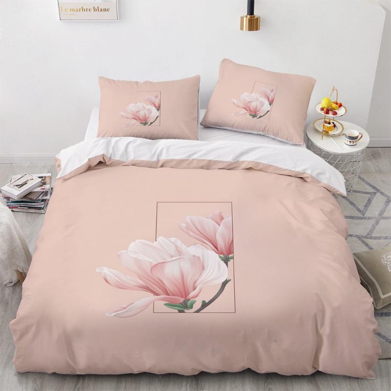 Подсветки 3d 3D постельное белье одеяло обложка одеяло охватывает подушки подушки подушки постели постели постели королева полная близнец роскошный цветок дома текстиль