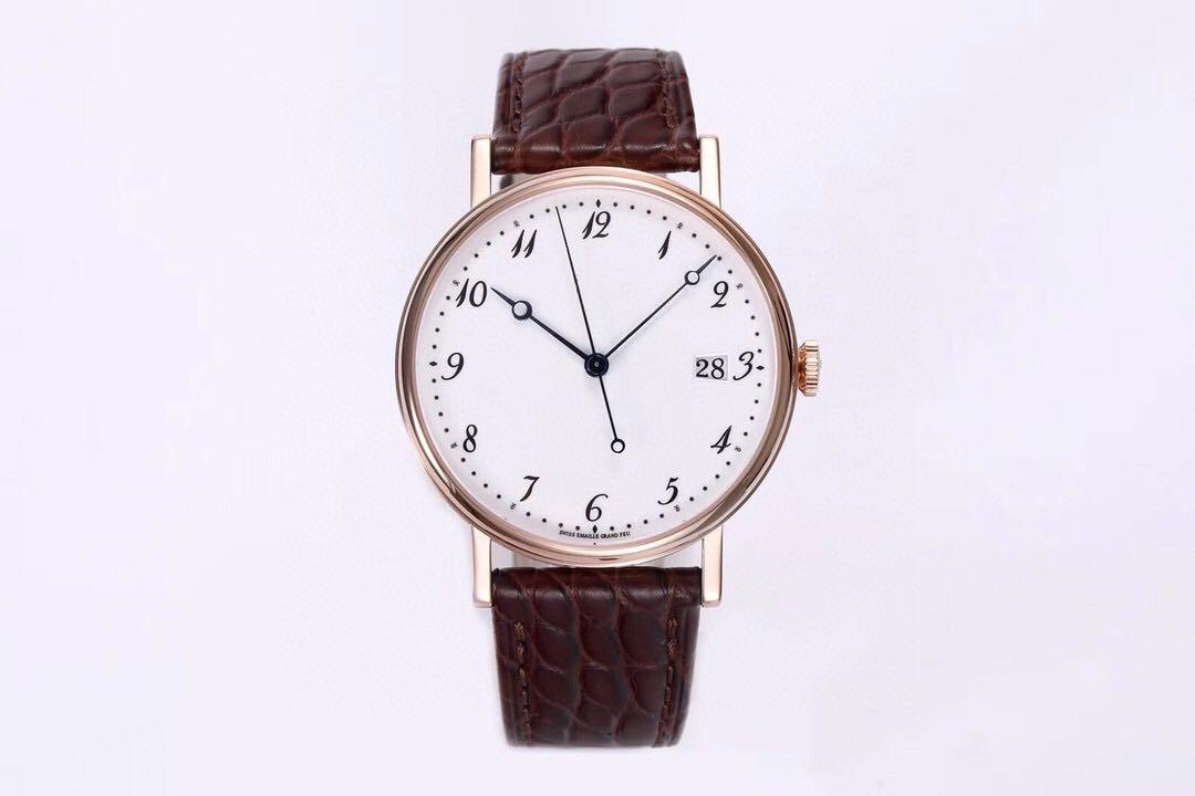 В 2020 году, качество мужские часы с диаметром 38mmx8.5mm оснащен 777Q движения водонепроницаемых наручных часов