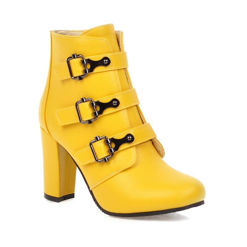 Grande taille bottes simples bottes courtes femmes chaussures cheville pour les femmes dames chaussures femme hiver