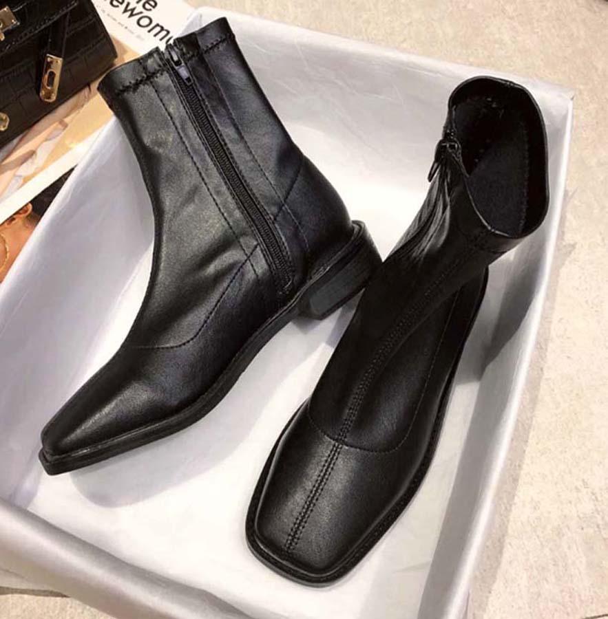 Classics Boot Mode und exquisite Damen Stiefel High Heels und echtes Leder Im Freien Mode Stiefel Martin b05 P38