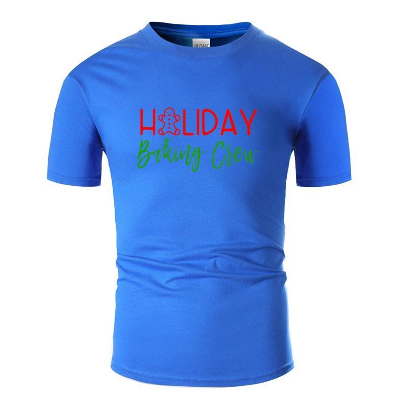 T Shirts a maglia di Natale di modo di cottura varia vacanza cottura varia cottura maglietta per i Mens 100% del collo degli uomini di equipaggio cotone