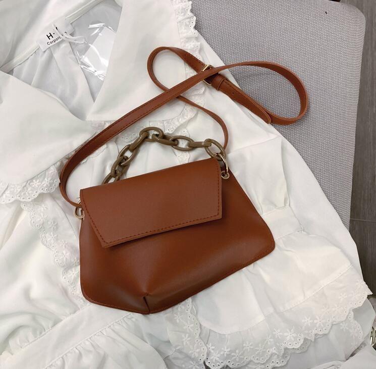 Mode femme chaîne Sacs à bandoulière Petit sac à bandoulière été Sacs à main Fille Sacs de haute qualité