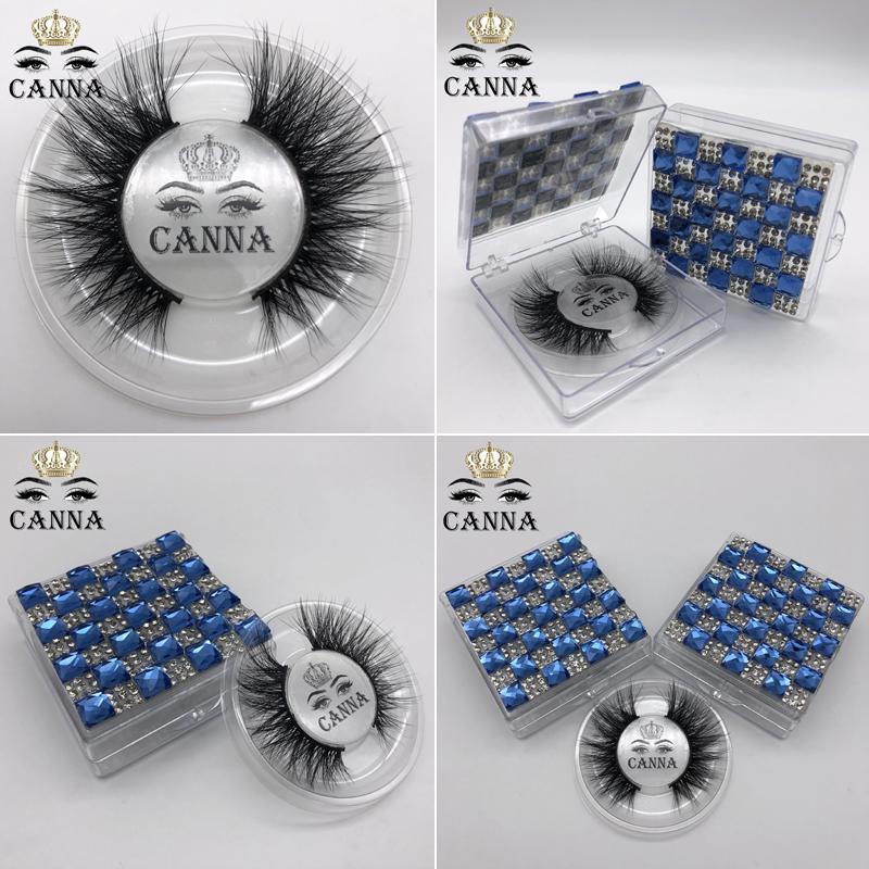 Neuer 3D-Mink Lashes echter Nerz Wimpern falsche Wimpern natürliche lange einzelne dichte Wimpern für Augen Make-up Verlängerung gefälschter Wimper
