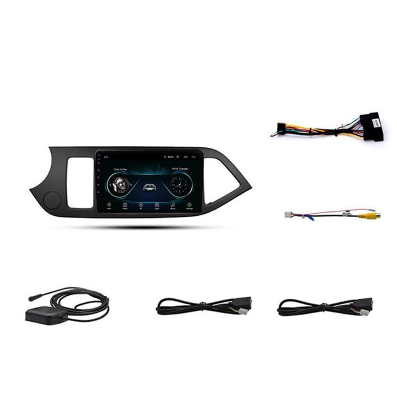 Auto-Spieler für Kia für Picano 11-17 Android 8.1 Multimedia-Autoradio GPS-Navigation Integrierte Großbild-Video-Player
