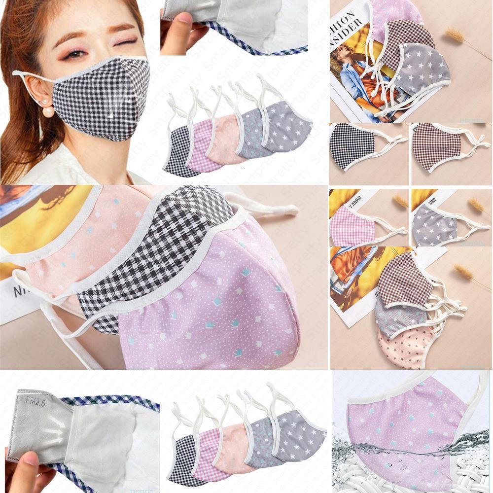 Pamuk Bahar Maske Unisex Anti-toz Yaz Yüz Nefes Ağız Kapak Respiratörü Yıkanabilir W0XR Maske