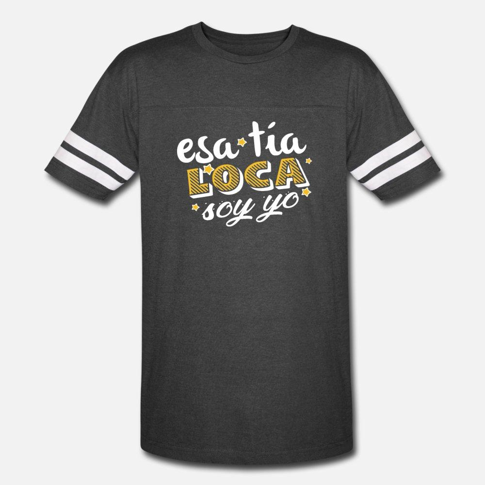 Engraçado Tia tia T Em espanhol, hispânico Aunties Camiseta Homens Imprimir camiseta em torno do pescoço Legal Anti-rugas respirável Verão Natural Shirt
