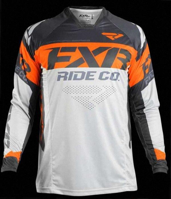 NEW FXR Motocross Shirt Motorcycle Jacket Off-road T-shirt Ride Bicycle Long-sleeve Shirt Motocross Jersey Moto Jersey Jaqueta zFZ5#