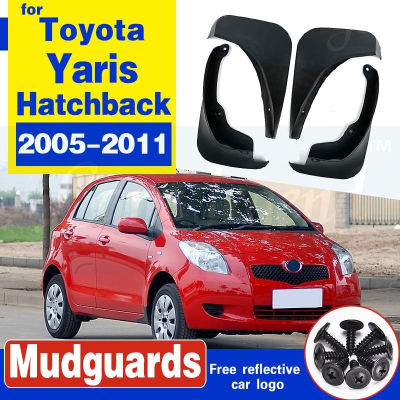 Schmutzfänger für Toyota Yaris Fließheck Hatch 2005-2011 Vitz Daihatsu Charade Mudflaps Splash Guards Radabdeckungen 2006 2007 2008 2009
