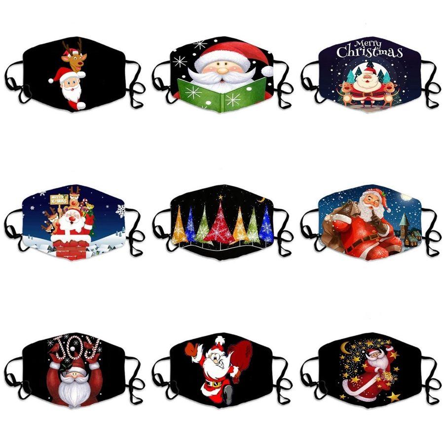 Máscaras Scarface Mix ColorsFace dos desenhos animados impresso contra pó máscara máscaras faciais tampa anti-poeira respirável e confortável da máscara # 434