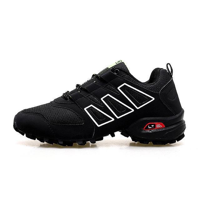 Мужчины Luminous обуви взрывозащищенного кроссовок Хаос Большого размер Открытая обувь нескользящей внедорожная Спортивная обувь