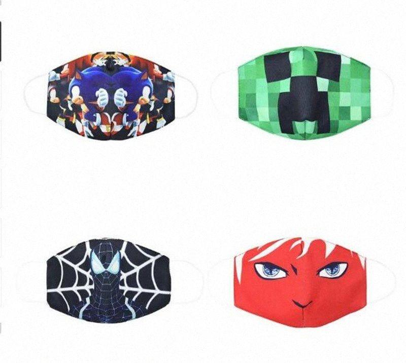 tapabocas mascarar crianças pano de algodão poeira crianças enfrentam boca máscara de banda desenhada da juventude máscaras para CADAS miúdo máscaras vd trhe #