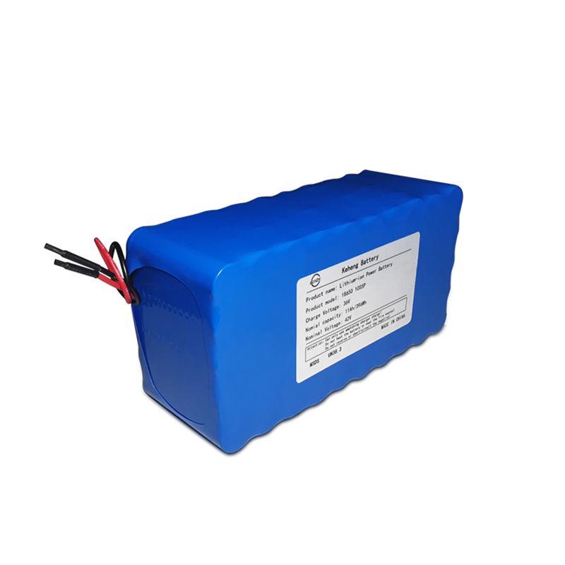 En iyi Fiyat 5 + Yıl Hayat Pil 10S4P 37 V 10AH 18650 Lityum İyon Şarj Edilebilir Pil Paketi için Ebike
