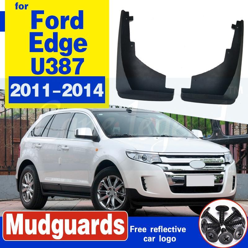 2 PCS Front-Car-Schmutzfänger für Ford Edge U384 2011 2012 2013 2014 Fender Schlamm-Klappen-Guard Spritz Flaps Radschützer Zubehör 1st Gen