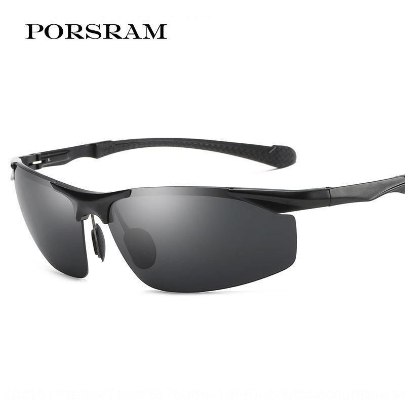 Baoshi Sonne Laiman Aluminium-Magnesium-polarisierte Sonne Antrieb Brille Männer und Frauen moderne Sonnenbrille Sportbrillen Reiten