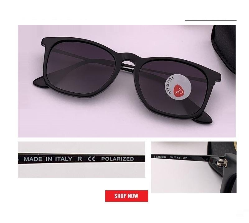 2019 nueva vendimia sol retro gafas polarizadas de los hombres materiales plancha cuadrada Gafas de sol clásicas de color rosa espejo de conducción gafas de sol masculinas rd4187