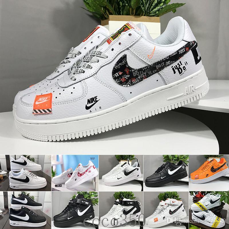 nike Air Force 1 One Af1 Großhandel 10X Forces Low Airs Kissen 1 Eine Laufschuhe für Männer Die Pure White Sports Trainer Frauen Designes Schuhe US5.5-11 SQI4A