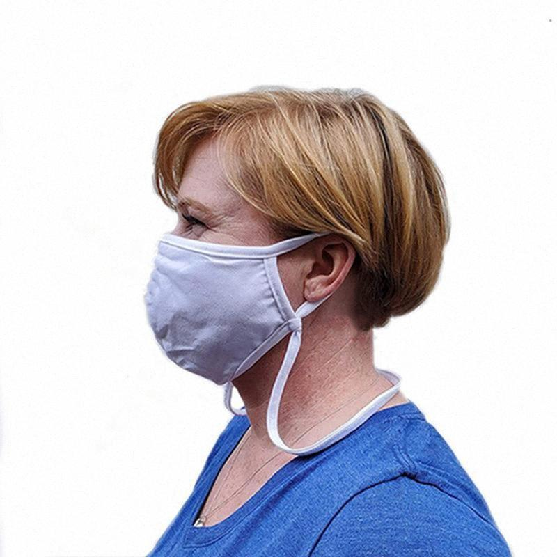 La creatividad que cuelga del cuello del estilo de máscara para adultos y niños a prueba de polvo respirable algodón máscara máscaras reutilizable lavable cara IIA405 eBLc #