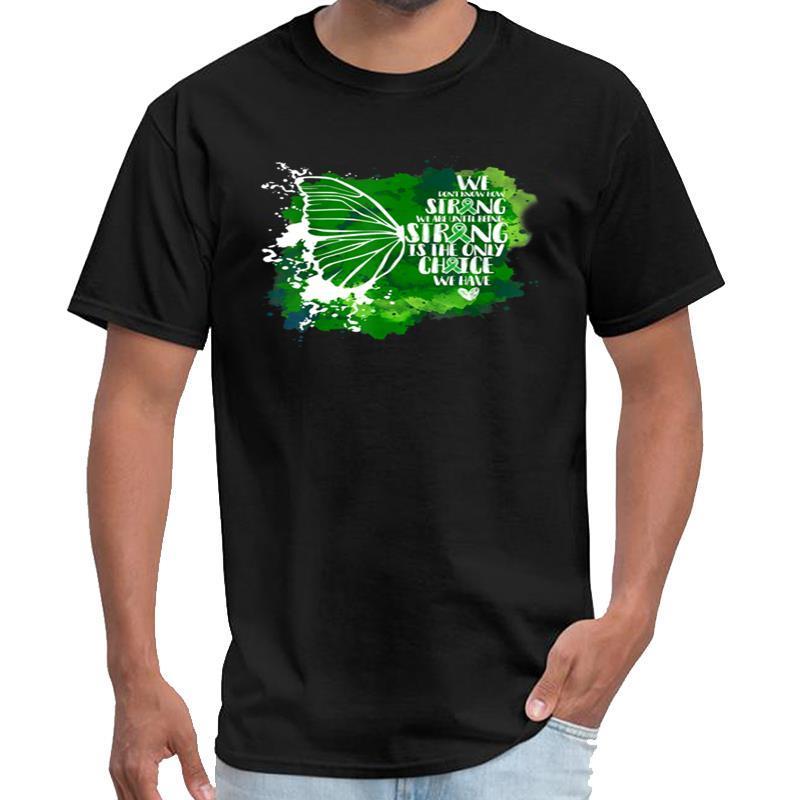 La consapevolezza Divertente Salute Mentale farfalla maglietta della maglietta homme viktor maglietta Mandaloriano Tsoi Taglie s-5XL hiphop