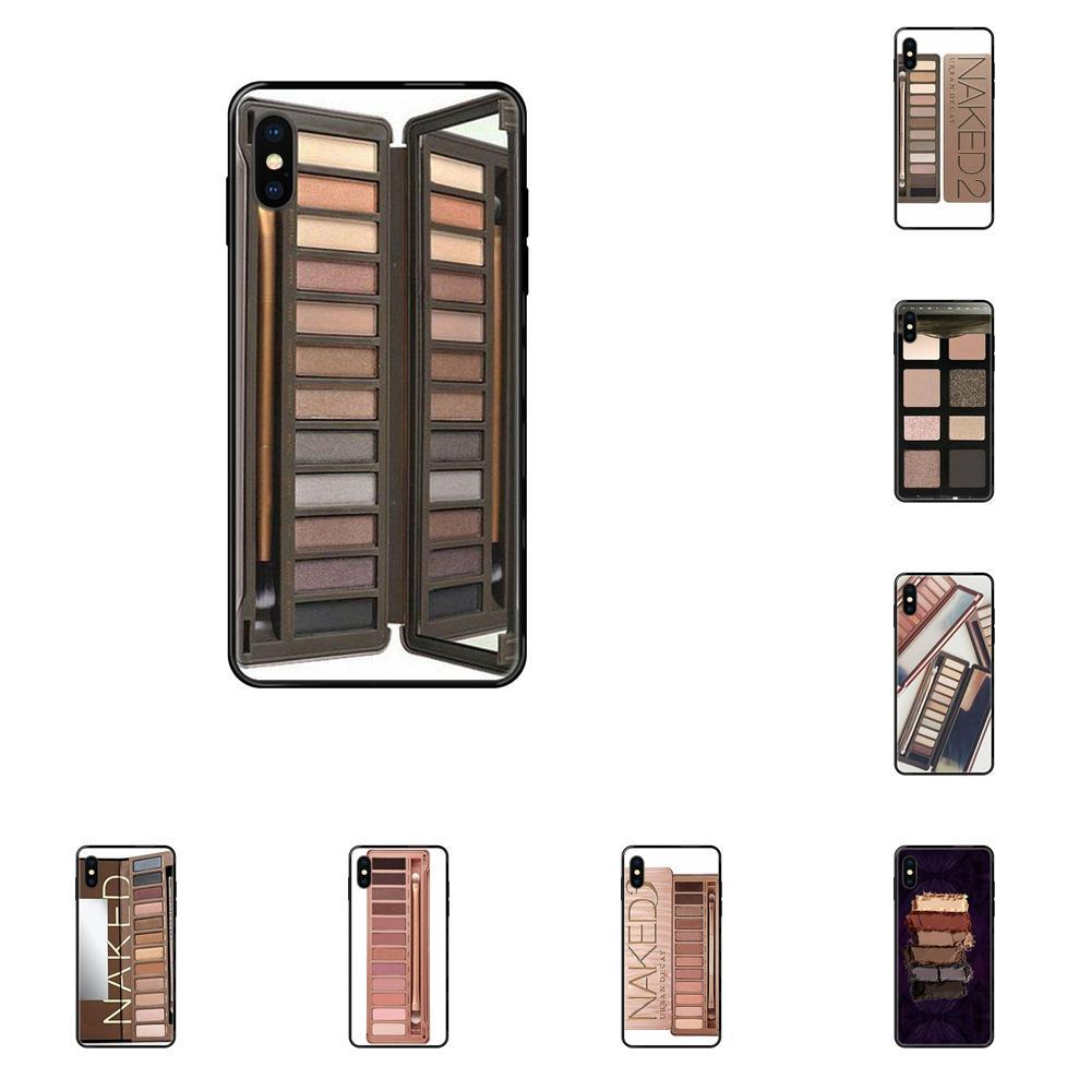 Soft Tpu Phone Case Cover Naked Palette For IPhone 11 12