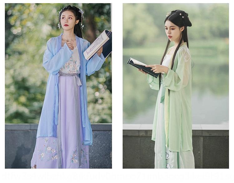 2020 Summer Nouveau adultes Chanson d'été pour les femmes de vêtements de broderie de broderie chinoise antique costume brodé de style chinois