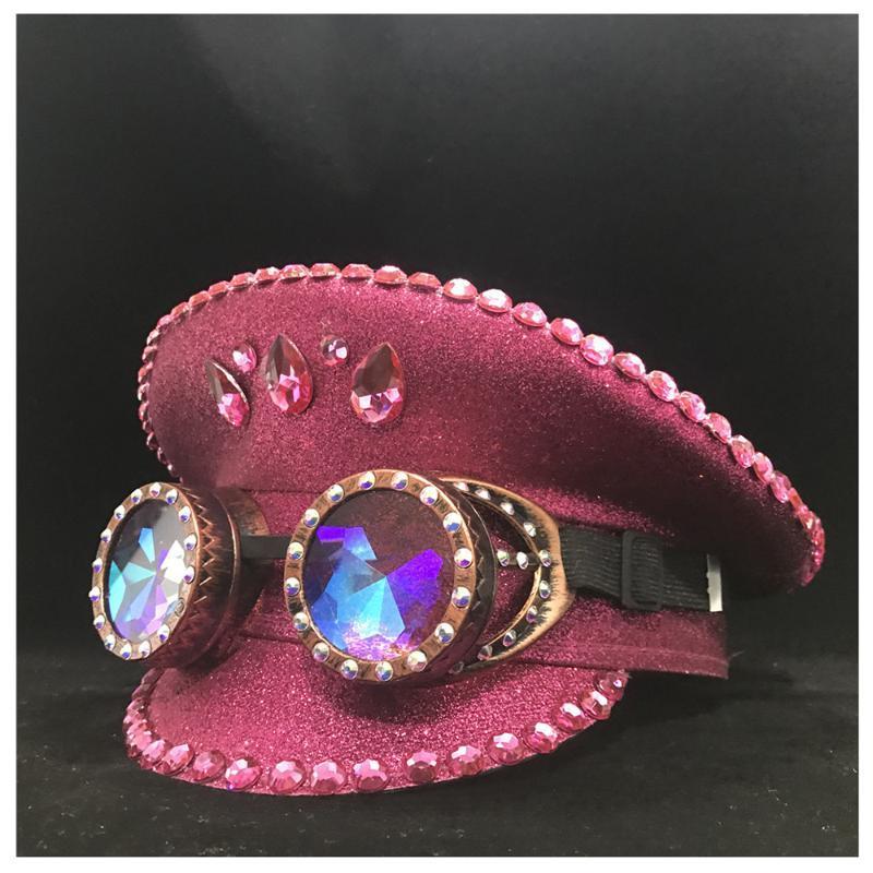 Аутентичные женщин розовый Hat с металлическими Классы Открытый Performance Hat для взрослых 3 Размер