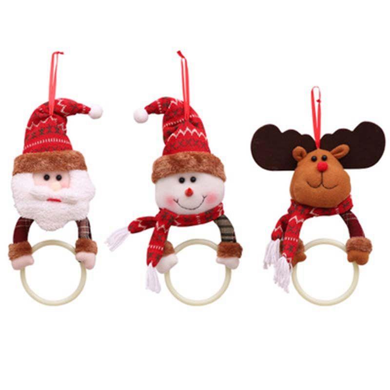 Noel Parti Malzemeleri Asma Süsler Home Kitchen Havlu Asma Yılbaşı Noel kolye Dekorasyon Bezi Noel Hediyesi