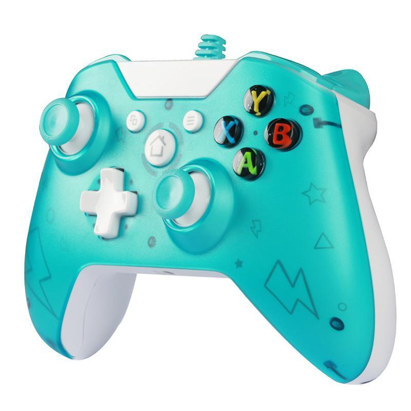 Проводной геймпад для Xbox One PC контроллер USB проводного джойстика для XBOX одной консоли Wins 7-10 Игрового контроллера с разъемом для наушников