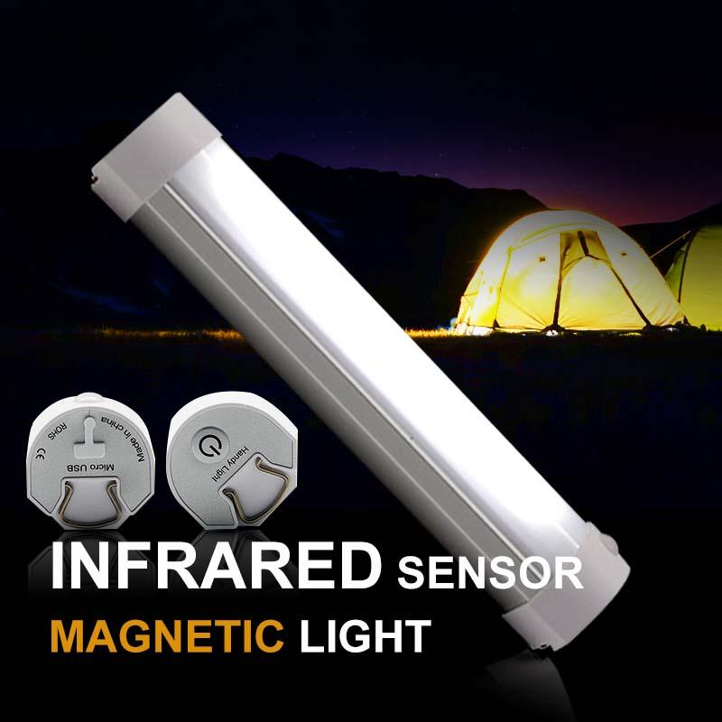 잉어 Bivvy 캠핑 조명 원격 제어 캠핑 램프 강력한 자석 레드 화이트 색상의 USB 충전식 텐트 라이트 낚시