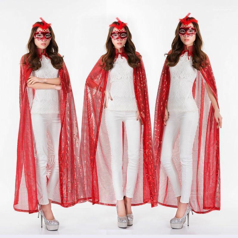 Sequine colore solido di modo coulisse del Capo con cappuccio a maniche lunghe cappotti delle signore della molla del progettista delle donne Outwear con