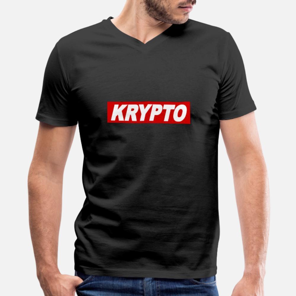 Kühlen Krypto Zitat Obey Sign-Geschenk-Idee T-Shirt Männer Druck-Kurzschluss Hülse O-Ansatz Muster Verrückte Grund Sommer-Art-Weinlese-T-Shirt