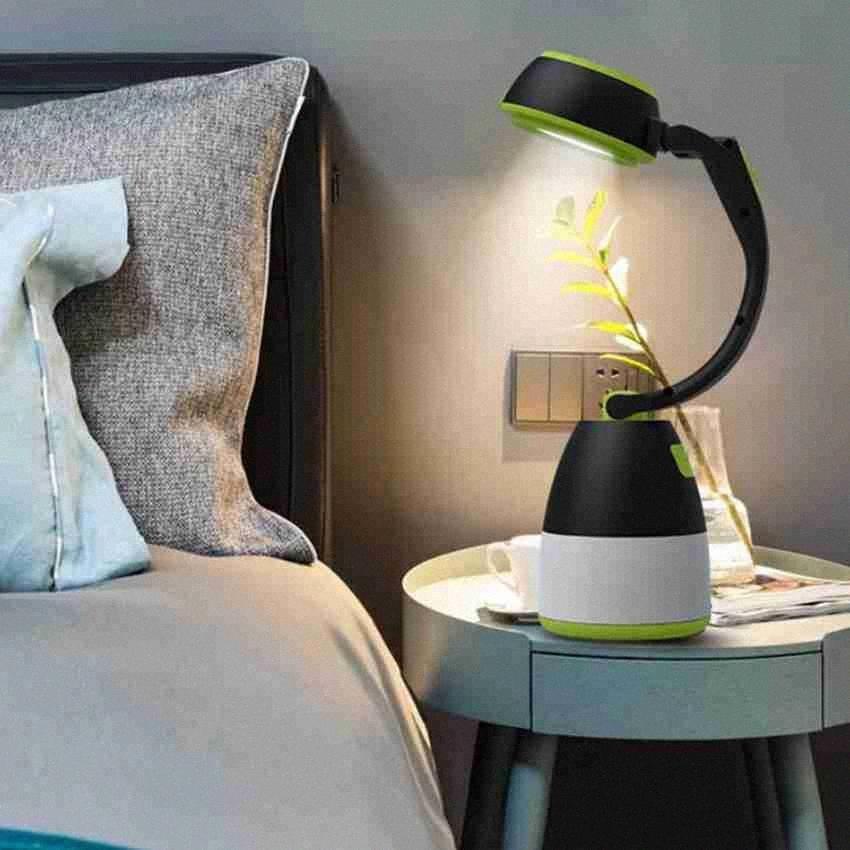 Настольные лампы 3 В 1 LED Палатки Лампы для кемпинга Лампа аварийного освещения Главной USB перезаряжаемых портативных фонарики Мебель ZZA2337 1LSE #