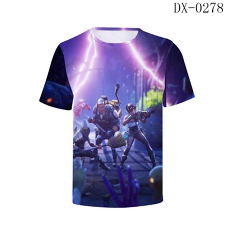 2020 T-shirt il nuovo disegno Fortezza Notte Uomini Donne Heavy Metal Grim Reaper 3D t-shirt stampate Casual Harajuku Style Fortezza Notte T-Shirt # 259
