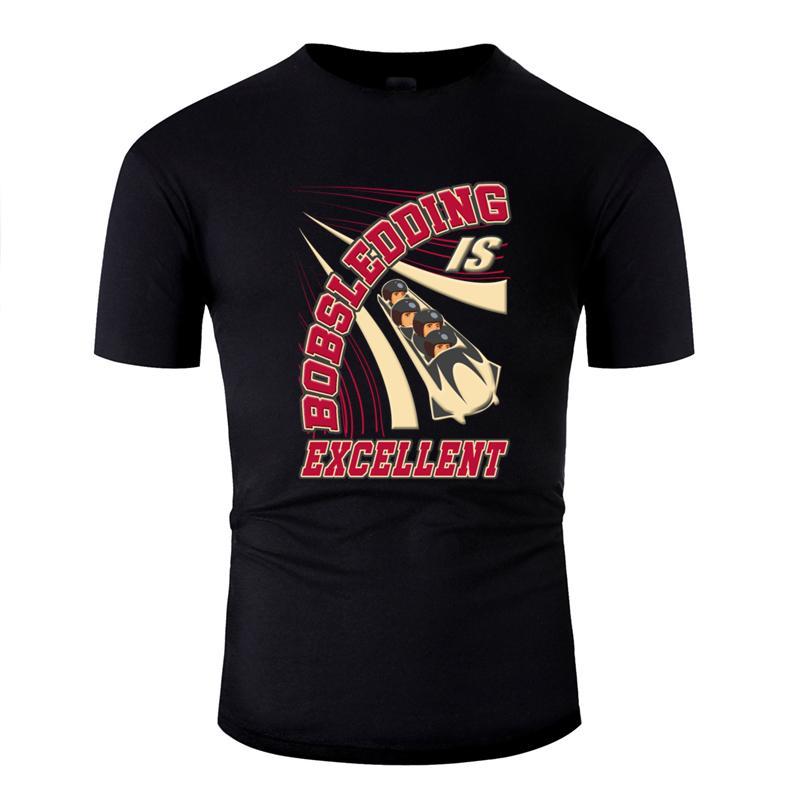 Nueva moda Humor trineo regalo para aficionado a los deportes de invierno bobsleigh camiseta 2020 Carta camiseta del verano camisa de te floja de la parte superior
