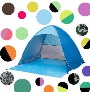 Otomatik Açık Çadır Anında Taşınabilir Plaj Çadır Barınak Yürüyüş Kamp Karşıtı UV Aile Kamp Çadırları 2-3 Kişi KKA1884 Hv3z # için