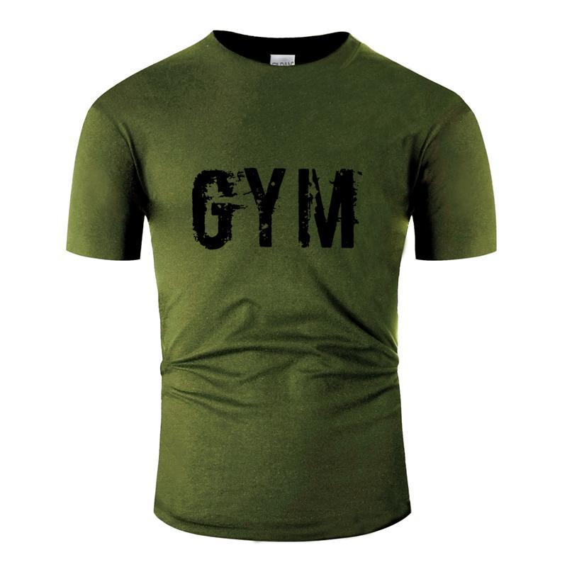 Giyim Nefes Gym Tişört Erkek 2020 Moda Tee Gömlek Kırışıklık Karşıtı Büyük Beden S ~ 5XL Hiphop En Kısa Kollu