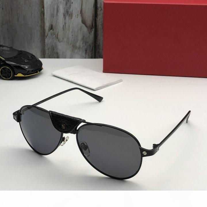 qualidade superior 1266 clássico para homens mulheres designer de populares óculos de sol moda verão estilo mulheres óculos de sol UV400 óculos vêm com caso