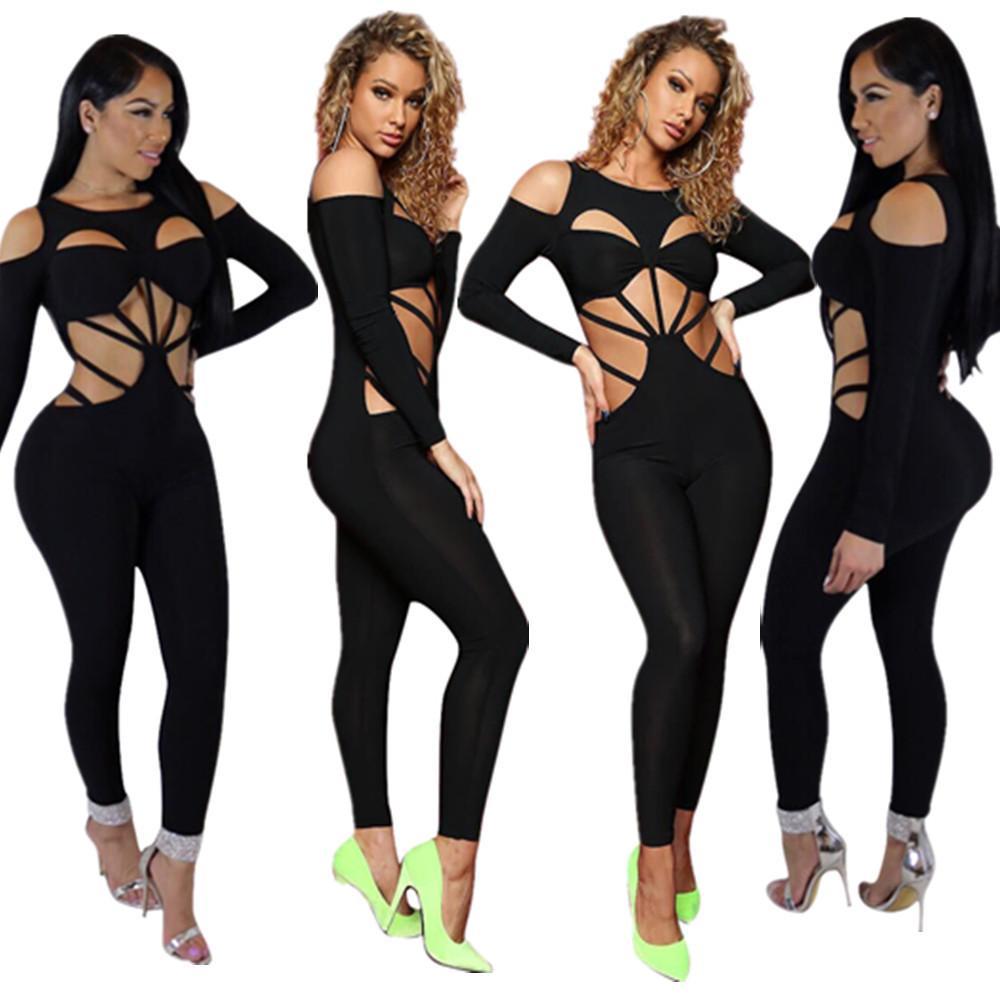 DN8046 Hot europäische und amerikanische Art und Weise der Frauen sexy Spitzen-up-Nachtclub-Outfit Verkauf Overall 2020