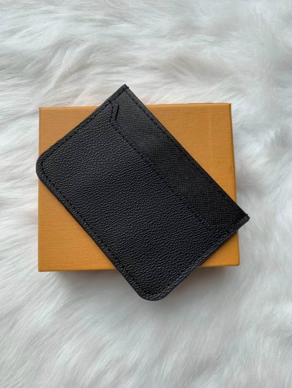 Pu Designer Fashion Card Holders Women Mini Wallet Men Purse 3 colours with box Wholesale