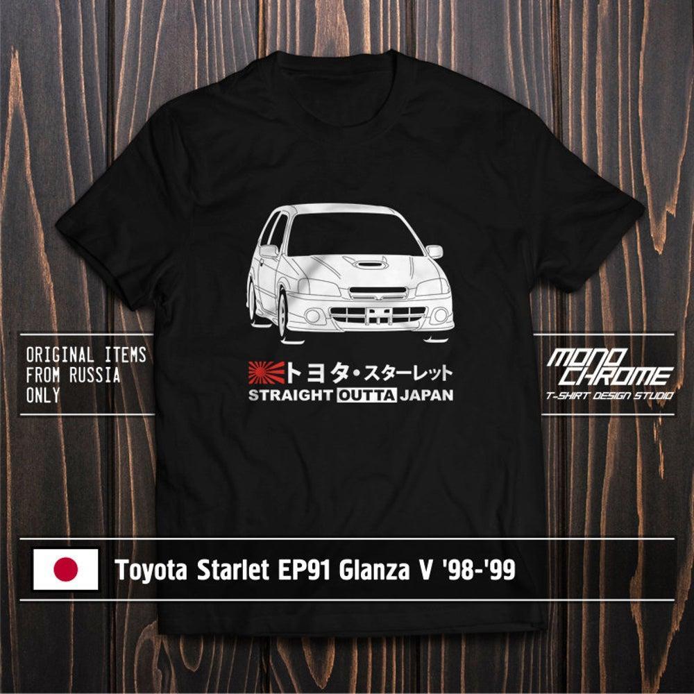 T-shirt Toyota Starlet EP91 Glanza V '98 '99