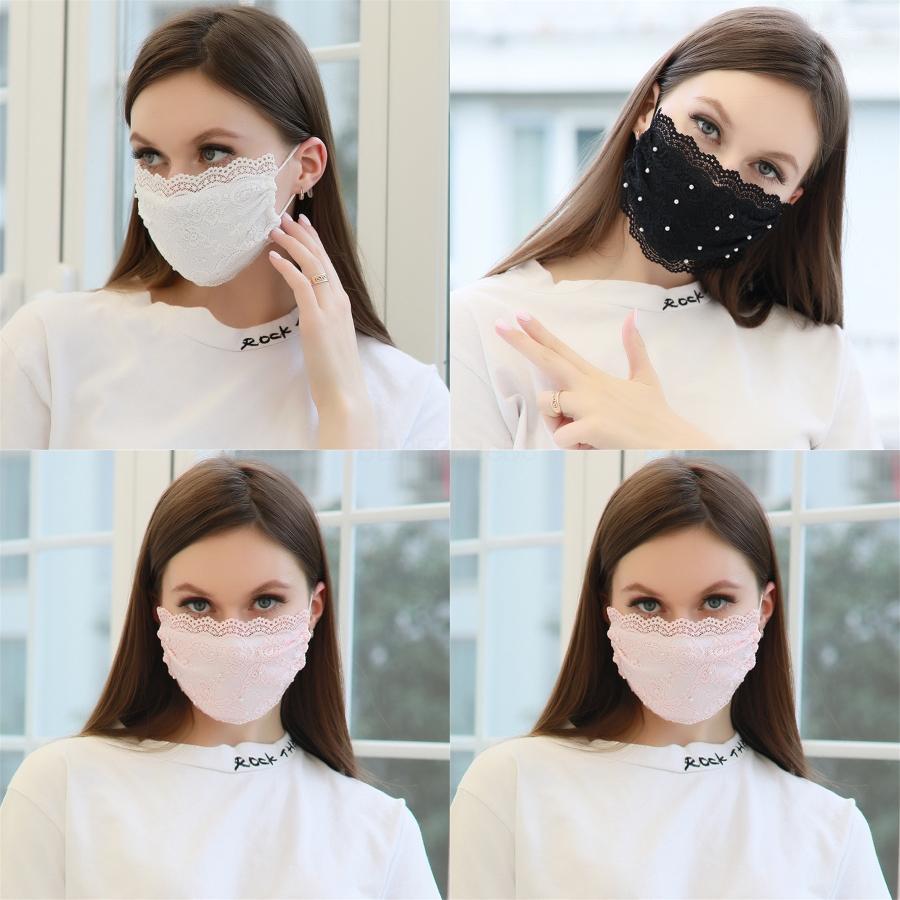 Dener Mask aléatoire Imprimer Mout Masque de protection anti-poussière Ouseould ICotton Champ Rose Er protection Masques # 758 # 401