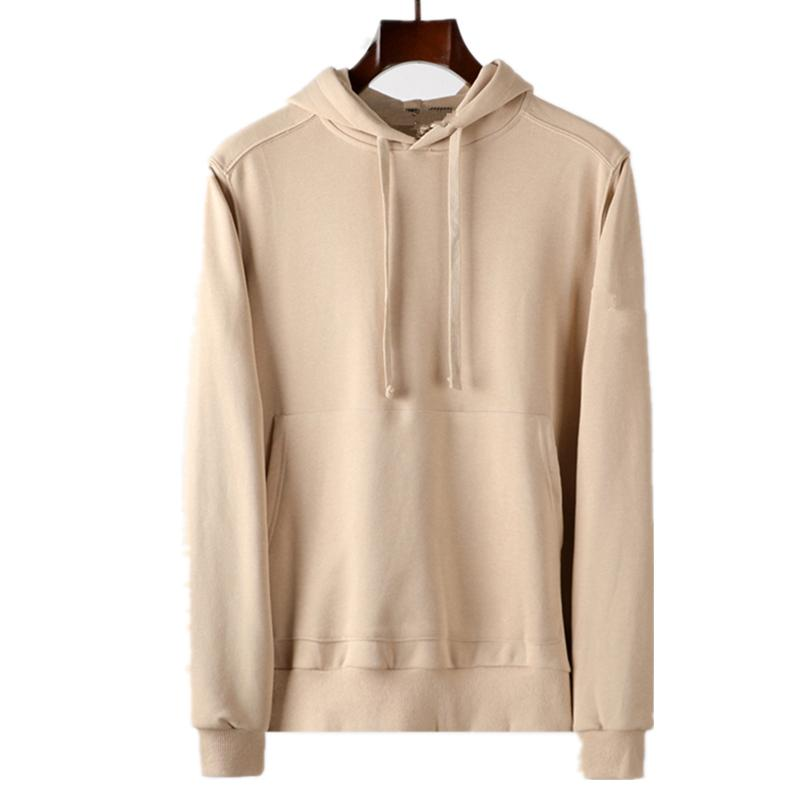 TopStone Jumper 2020FW Konng Gong Spring и Out Fashion Brand Mens Mens Hoodie Jumper Hoodie Poet Pure Cotten Furn Basic Style