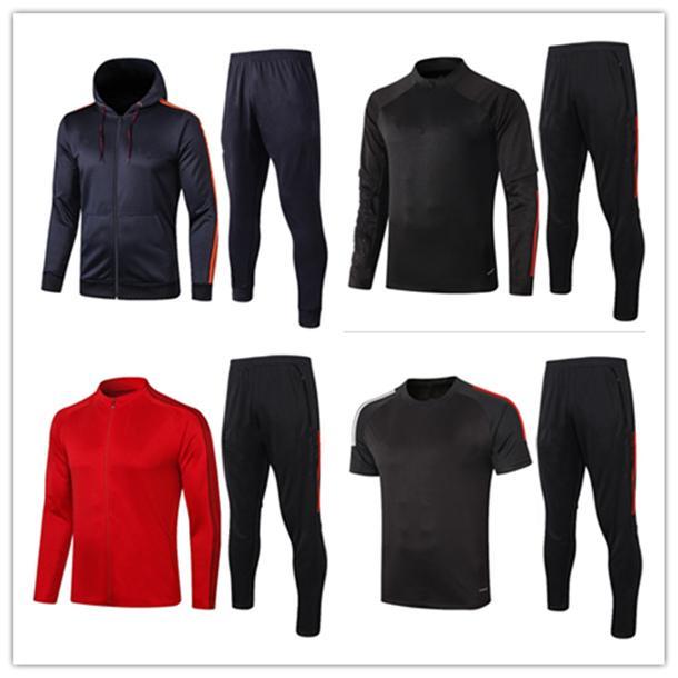 20 21 новых мужчин футбол Джерси тренировки костюм 2020/21 maillots де футбол длинный рукав футбол Tracksuit куртках BM0001