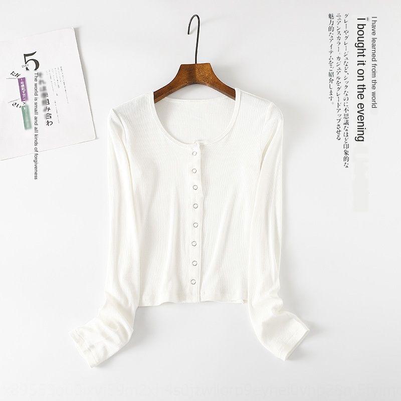 b3v3i célèbre 2020 printemps et automne Pull à manches longues femmes autour du cou nouveau knitwear courte chemise de base de tricot pull-over pour les femmes