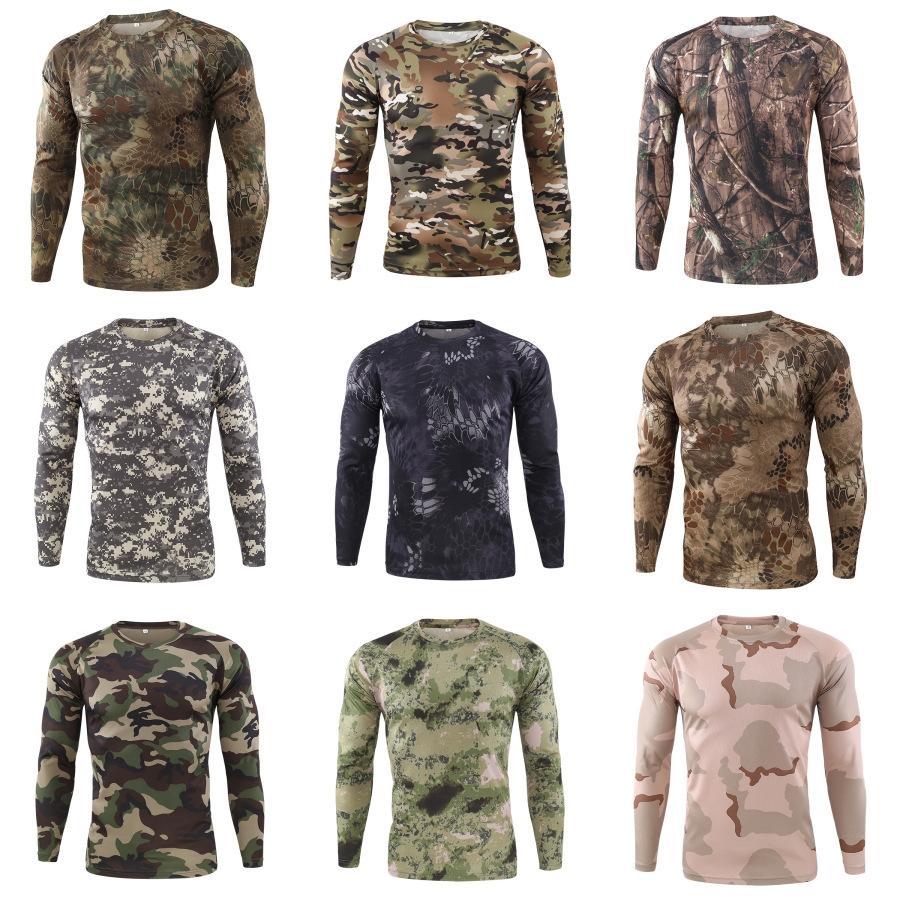Мужчины Mens студент моды с длинным рукавом T-Shirt O-образным вырезом футболки топы весна осень Простой стиль Casual # 667