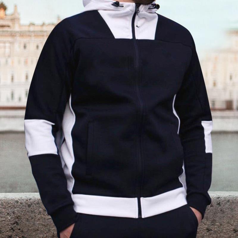 Jacken Lauf Leopard Stile Herren Sakko Mode-Frühlings-Herbst-beiläufige Kleidung Designer Herren Kapuzen-Print