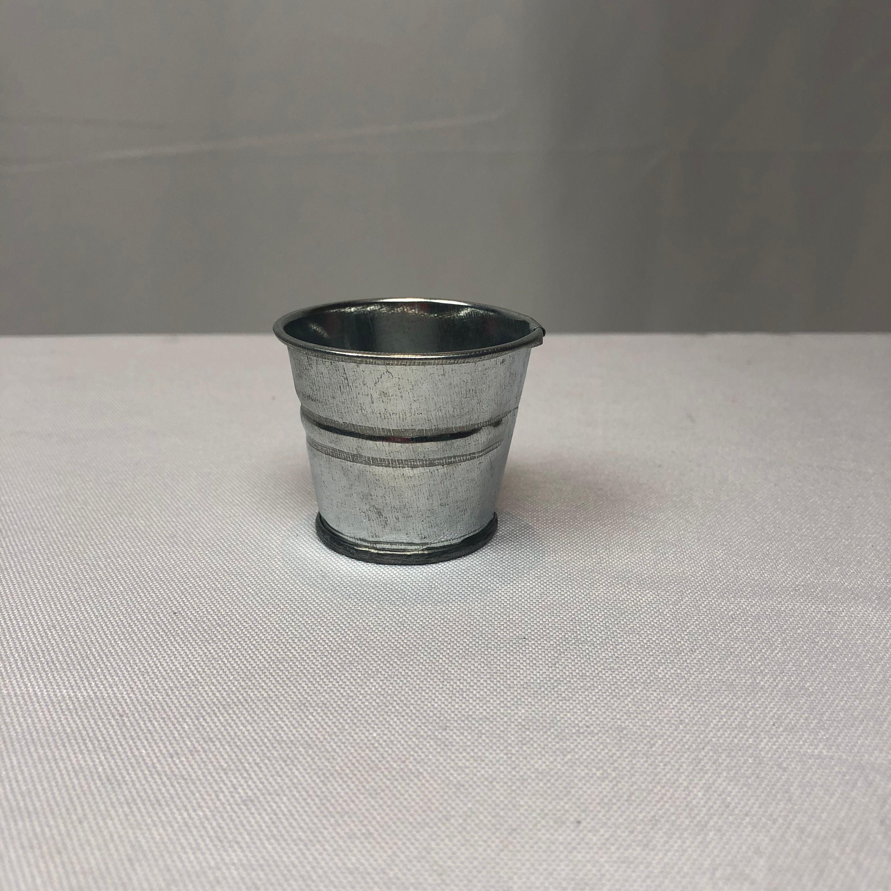2020 Cute D5xh4cm Rustic Nostalgia Mini Nursery Pots Silver Wedding Succulent Planter Mini Galvanized Tub For Small Plant Sf 059 From Gudanyijinbuzai 0 36 Dhgate Com