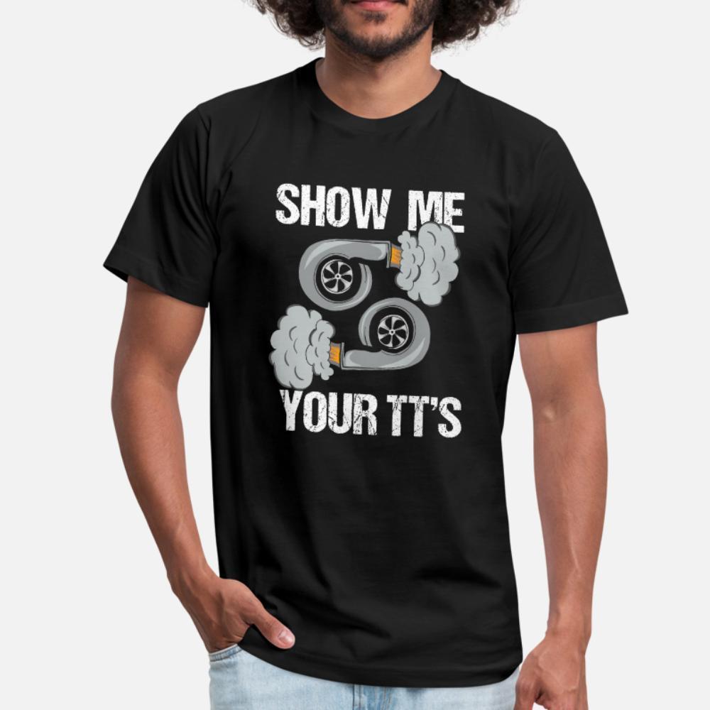 Turbo Racecar Titts Boobs Funny Pun t shirt men Printing Short Sleeve O Neck Kawaii Graphic Casual Summer Style Natural shirt